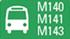 Líneas de autobús para llegar a Escuela SAMU